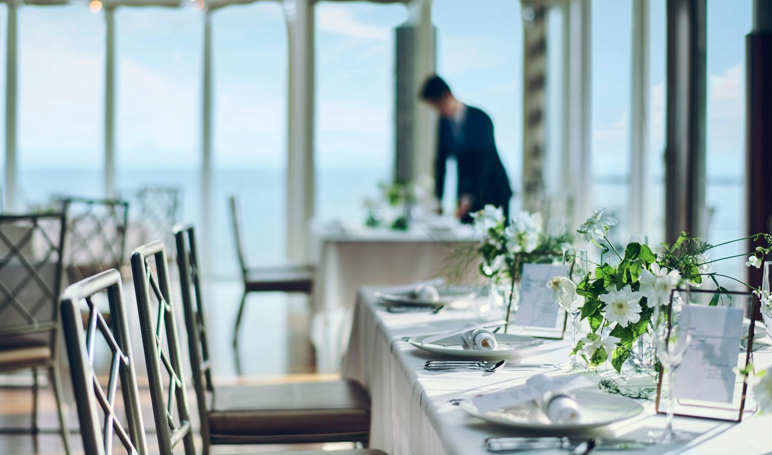 レストラン指帆亭について