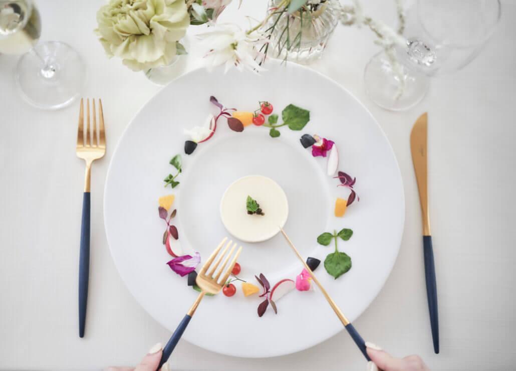 指帆亭の婚礼料理